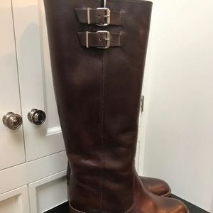 J. Crew Tall Leather Boots